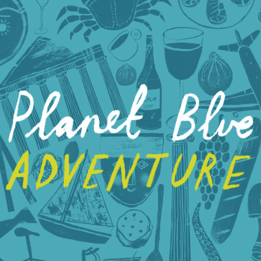 Planet Blue Adventure Logo